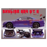 Skyline R34 GT-R , frame included