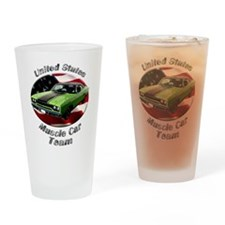 Plymouth Roadrunner Drinking Glass