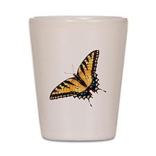 Tiger Swallowtail Butterfly Shot Glass