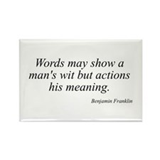 Benjamin Franklin quote 193 Rectangle Magnet