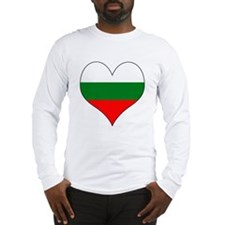 Bulgaria Heart Long Sleeve T-Shirt