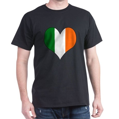 Ireland Heart Dark T-Shirt