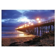 Oceanside Pier at Night,
