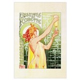 Cute Antique advertising art Wall Art
