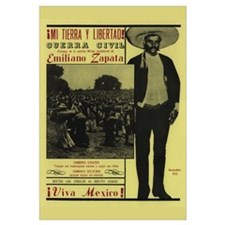 Emiliano Zapata Mexican Revolution Spanish