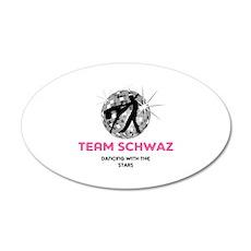 Team Schwaz 22x14 Oval Wall Peel