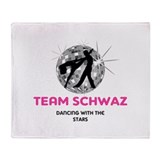 Team Schwaz Throw Blanket