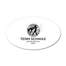 Team Schwaz 38.5 x 24.5 Oval Wall Peel
