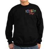 Music Makes Me Sing! Sweatshirt