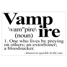 Definition of a Vampire