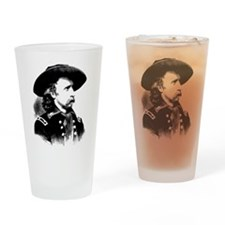 General Custer Drinking Glass