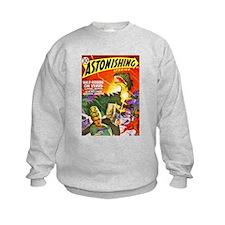 Dragon Science Fiction Cover Art Sweatshirt