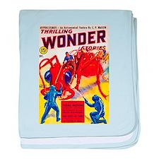 Wonder Giant Ant Cover Art baby blanket