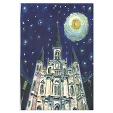 Night Cathedral Print