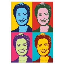 Hillary Clinton Pop Art