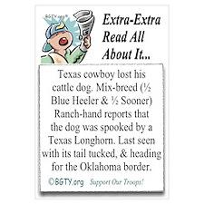 Texas Cowboy Lost His Dog