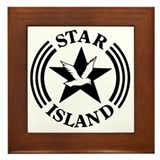 "STAR ISLAND ""Edith's Logo"" - Framed Tile"