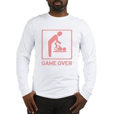 New Dad to be - Game over Dia Long Sleeve T-Shirt