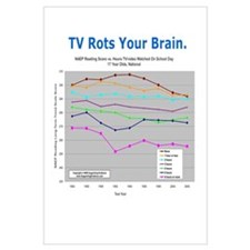 'TV Rots Your Brain'