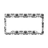 Damask License Plate Holder