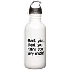 thank you thank you Sports Water Bottle