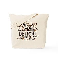 Detroit (Funny) Gift Tote Bag