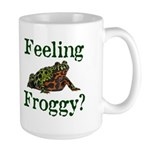 Feeling Froggy? Large Mug