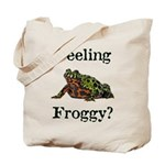 Feeling Froggy? Tote Bag