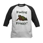Feeling Froggy? Kids Baseball Jersey