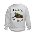 Feeling Froggy? Kids Sweatshirt