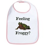 Feeling Froggy? Bib