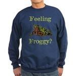 Feeling Froggy? Sweatshirt (dark)