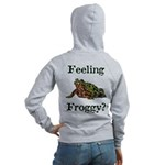 Feeling Froggy? Women's Zip Hoodie