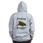 Feeling Froggy? Zip Hoodie
