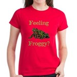 Feeling Froggy? Women's Dark T-Shirt