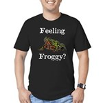 Feeling Froggy? Men's Fitted T-Shirt (dark)