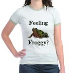 Feeling Froggy? Jr. Ringer T-Shirt
