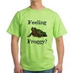 Feeling Froggy? Green T-Shirt