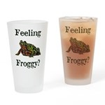 Feeling Froggy? Drinking Glass