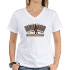 JAMES FORD Women's V-Neck T-Shirt