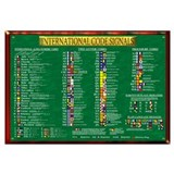 INTERNATIONAL CODE FLAGS POST