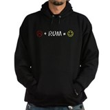 Plus Rum Equals Happy Hoodie