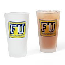 Faber University Animal House Drinking Glass