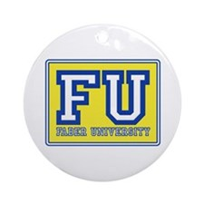 Faber University Animal House Ornament (Round)