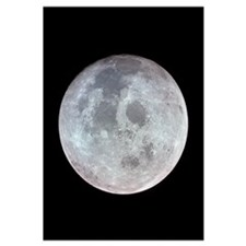 Moon from Apollo 11 space gift