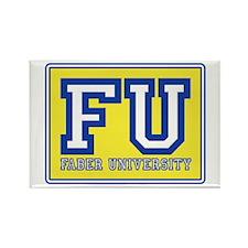 Faber University Animal House Rectangle Magnet (10