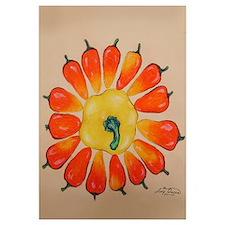Hot Pepper Sunflower