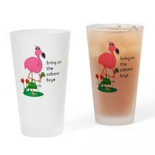Flamingo Funny Drinking Glass