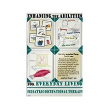 Occupational Therapy Rectangle Magnet