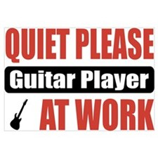 Guitar Player Work